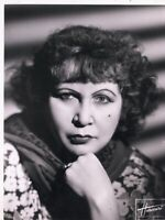 French Singer / Actress Fréhel (Marguerite Boulc'h) orig ca 1930s photograph