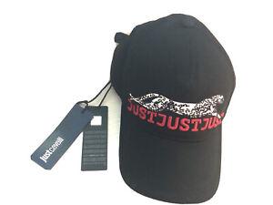 New Just Cavalli Men's Hat/ Cap Size L Adjustable Strap Authentic