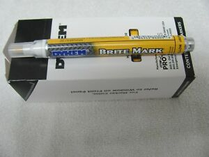 Dykem Brite Mark  Industrial and All  Purpose Paint Markers (Yellow)