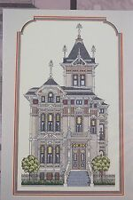 Westerfeld House Nancy Spruance Victorian House Counted Cross Stitch