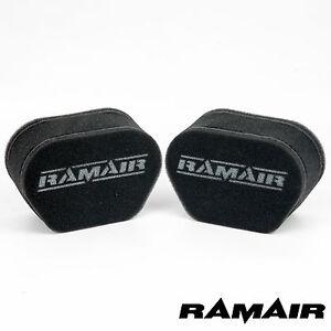 RAMAIR Performance Schiuma Calzino Filtri Aria Kawasaki ZRX Keihin 39mm Fcr