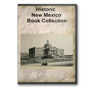 33 New Mexico NM State County History Culture Family Genealogy Books - B359
