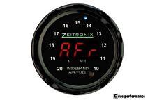 Zeitronix à large bande Zt-3 + ZR-1 AFR et Lambda GAUGE DISPLAY Bundle (rouge/noir)