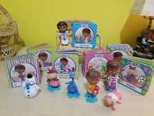 Disney Junior Doc McStuffins Cake Topper Figures & Mini Board Books + Small Doll