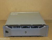 Dell EqualLogic PS6000XV Virtualized iSCSI SAN Storage Array 16 x 600GB SAS