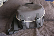 Genuine Canon Camera Bag With Adjustable Padded Strap Canvas Carry/Shoulder Bag