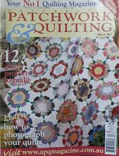 Australian Patchwork and Quilting Magazine Vol 11 No 7 How To Photograph Quilts