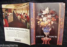 Firenze expò expo' 1986 comune azienda autonoma turismo arte esposizione vendo