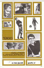 Catalogue Gauthier-Languereau 1966. Bécassine