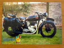 "MOTO  "" BSA "" 1939 téléthon 1999 Carte postale Motocylette Collection Motorcycle"