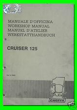 CAGIVA manuale d'officina CRUISER 125