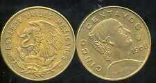 MEXIQUE 5 centavos 1968  ( bis )
