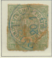 North German Confederation Stamp Scott #2, Used