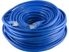Blue 100Ft RJ-45 23AWG Cat-6 UTP Gigabit Ethernet Lan Network Cable