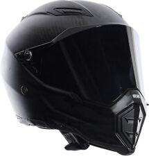 AGV AX-8 EVO Naked FURY Carbon Full-Face Motorcycle Helmet (Black) M (Medium)