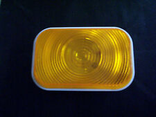 TruckLite Tail Light, Super 45, Yellow Incandescent, 1 Bulb, Front/Park/Turn