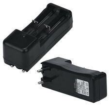 Universal Dual Battery Charger For 18650 16340 26650 Rechargeable 3.7V Li-ion EU