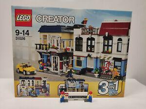 Lego® Creator 3 in1 Set 31026 - Fahrradladen & Café - Neu - OVP Top Zustand