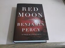 Red Moon by Benjamin Percy (2013, Hardcover) 1st edition used