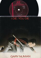 Gary Numan ORIG UK PS 45 I die you die EX '80 Synth New Wave beggars Banquet