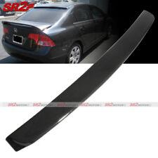 Carbon Looks Rear Roof Spoiler Wing Window Visor fits 06-11 Honda Civic Sedan