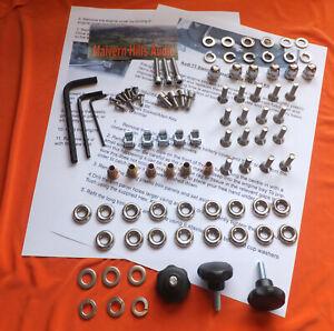 90 Piece Audi TT Mk.1 (8N) Engine Bay Fastener, Fuel Surround & Strut Brace Kit.