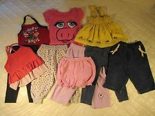 Baby Girl Infant Play Clothing 18 mos Mix-n-match Adorable pants, tops, bloomers