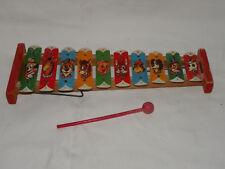 Très vieille Enfants cloches jeu-Xylophone
