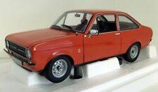 Minichamps 1/18 scale 150 084100 Ford Escort Mk2 1.3 (LHD) 1975 Orange