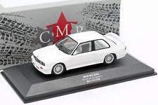 BMW M3 (E30) Sport Evolution DTM 1992 Plain Body Version weiß 1:43 CMR