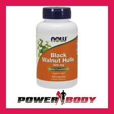 NOW Foods - Black Walnut Hulls, 500mg - 100 caps