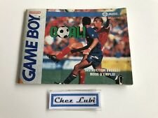 Notice - Goal - Nintendo Game Boy - PAL FAH