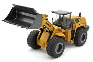 HUINA 1/14 Scale Alloy 10 Channel 2.4Ghz Wheel Loader #1583