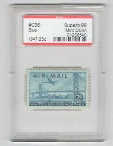 #C36  PSE Superb 98 MNH OG Encapsulated SMQ. $70 (JH 5/12/21) GP