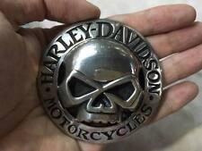 Harley Skull Head Belt Buckle Wille Motorcycle Mint Biker Rare HTF VTG