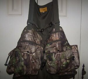 HS Strut Turkey Hunting Vest WITH Attached Seat Size L-XL