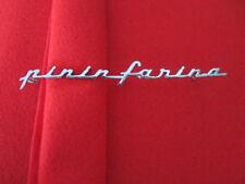 Ferrari Pininfarina Badge Emblem Script Logo Original