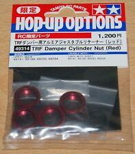 Tamiya 49314 TRF Damper Cylinder Nut (Red) (TA04-TRF/TB Evo III/3/TRF415)