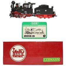 Lehmann LGB 2015D DR Schlepptenderlok 992015 Dampflok Tender Reichsbahn