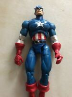 "Marvel Legends Classic Captain America 6"" Loose figure Series 1 Toybiz 2002 Rare"