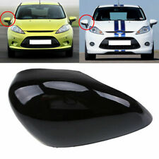 Fit Ford Fiesta Mk6 2008-17 Door Wing Mirror Cover Black O/S Drivers Side Right