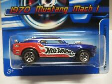 HOT WHEELS 2006 FIRST EDITION 1970 FORD MUSTANG MACH 1 #125 MINT O CARD