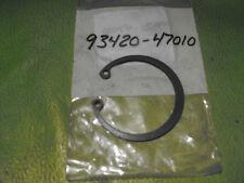 YAMAHA SR250 TT250 TX500 XS1100 XS500 XT250 R.WHEEL CIRCLIP OEM # 93420-47010-00