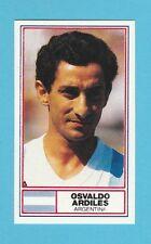 FOOTBALL - ROTHMANS LTD. - INT'L FOOTBALLER CARD - ARDILES OF ARGENTINA - 1984