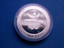 España 2000 ptas. 1990, olimpiada barcelona 1992, oly. anillos, plata pp en Cap.