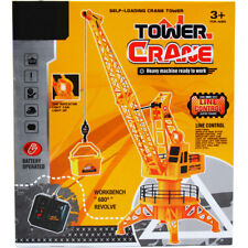 Remote Control Tower Crane Battery Operated Heavy Machine Super Power