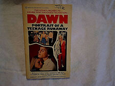 DAWN PORTRAIT OF TEENAGE RUNAWAY PAPERBACK Eve Plumb brady bunch,NBC tv movie bk