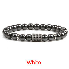 Magnetic Hematite Beads Healthcare Weight Loss Bracelet Bangle Healthy Therapy H