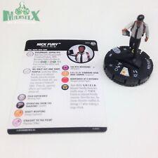Heroclix Captain Marvel Movie set Nick Fury #004 Gravity Feed figure w/card!