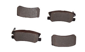GENUINE Rear Brake Pads (4) For Mitsubishi Shogun V68 V78 V88 3.2DID 2/2000>ON